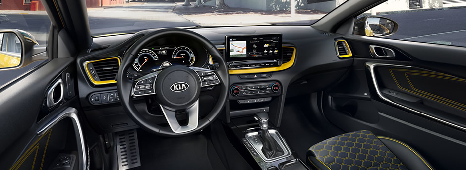 kia xceed dashboard